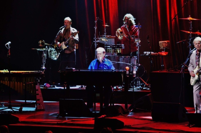 Brian Wilson and Al Jardine play Pet Sounds at the Mahaffey Theater in 2016. (source: tampabay.com)